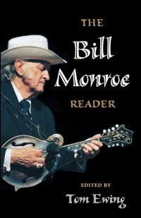 Cover for EWING: The Bill Monroe Reader. Click for larger image