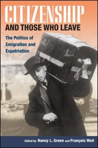 Cover for Green: Citizenship and Those Who Leave: The Politics of Emigration and Expatriation. Click for larger image