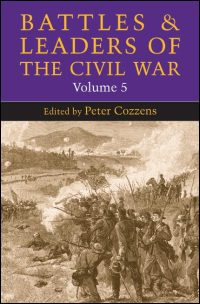 Cover for Cozzens: Battles and Leaders of the Civil War: Volume 5. Click for larger image