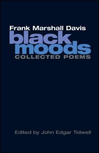 Cover for Davis: Black Moods: Collected Poems. Click for larger image