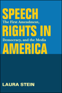Speech Rights in America - Cover