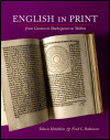 link to catalog page, English in Print from Caxton to Shakespeare to Milton