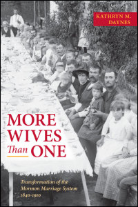 Cover for DAYNES: More Wives Than One: Transformation of the Mormon Marriage System, 1840-1910. Click for larger image