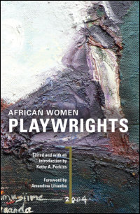 Cover for PERKINS: African Women Playwrights. Click for larger image