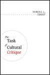 link to catalog page EBERT, The Task of Cultural Critique