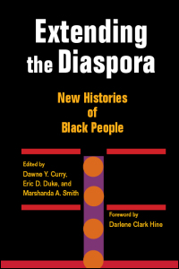 Cover for curry: Extending the Diaspora: New Histories of Black People. Click for larger image