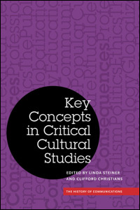 Cover for STEINER: Key Concepts in Critical Cultural Studies. Click for larger image