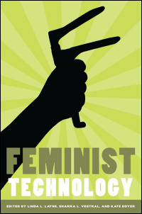 Cover for LAYNE: Feminist Technology. Click for larger image
