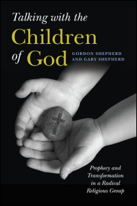 Cover for Shepherd: Talking with the Children of God: Prophecy and Transformation in a Radical Religious Group. Click for larger image