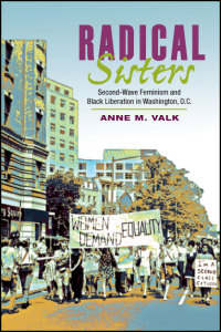 Cover for Valk: Radical Sisters: Second-Wave Feminism and Black Liberation in Washington, D.C.. Click for larger image