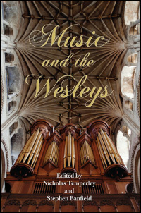 Cover for TEMPERLEY: Music and the Wesleys. Click for larger image