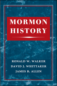 Cover for WALKER: Mormon History. Click for larger image