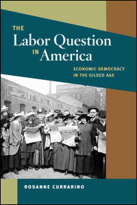 Cover for currarino: The Labor Question in America: Economic Democracy in the Gilded Age. Click for larger image