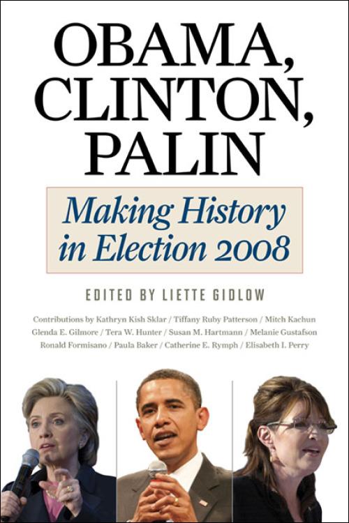 Book cover: Obama, Clinton, Palin