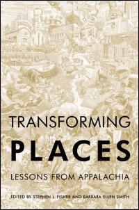 Cover for fisher: Transforming Places: Lessons from Appalachia. Click for larger image