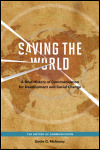 link to catalog page MCANANY, Saving the World