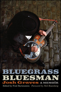 Cover for graves: Bluegrass Bluesman: A Memoir. Click for larger image