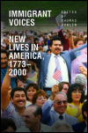 link to catalog page, Immigrant Voices