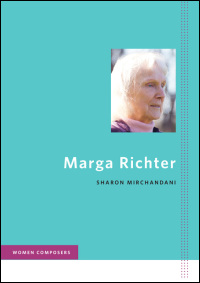 Cover for mirchandani: Marga Richter. Click for larger image
