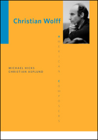 Cover for hicks: Christian Wolff. Click for larger image
