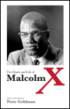 link to catalog page, The Death and Life of Malcolm X