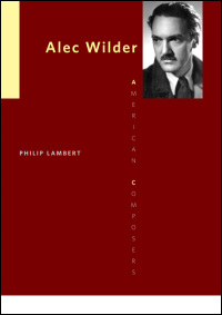 Book jacket for Alec Wilder