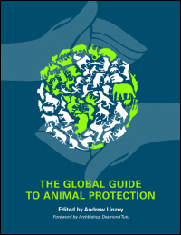 Cover for LINZEY: The Global Guide to Animal Protection. Click for larger image