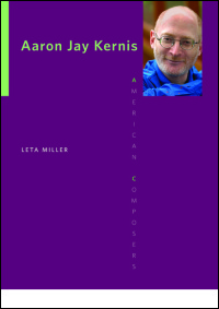 Cover for MILLER: Aaron Jay Kernis. Click for larger image