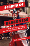 link to catalog page, Scripts of Blackness