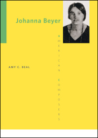 Cover for Beal: Johanna Beyer. Click for larger image