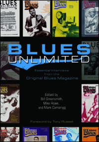 Cover for GREENSMITH: Blues Unlimited: Essential Interviews from the Original Blues Magazine. Click for larger image
