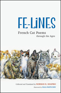 Cover for SHAPIRO: Fe-Lines: French Cat Poems through the Ages. Click for larger image