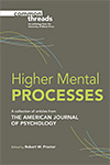 link to catalog page, Higher Mental Processes