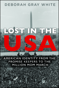 Cover for WHITE: Lost in the USA: American Identity from the Promise Keepers to the Million Mom March. Click for larger image