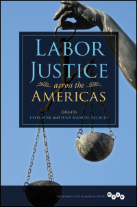 Cover for Fink: Labor Justice across the Americas. Click for larger image