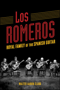 Cover for CLARK: Los Romeros: Royal Family of the Spanish Guitar. Click for larger image