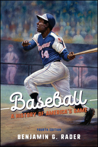 Cover for RADER: Baseball: A History of America's Game. Click for larger image