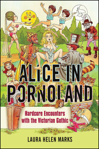 Cover for MARKS: Alice in Pornoland: Hardcore Encounters with the Victorian Gothic. Click for larger image