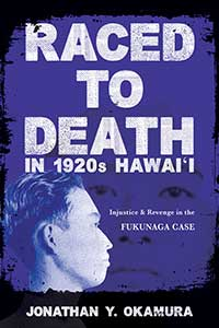 Raced to Death in 1920s Hawai i - Cover