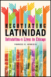 link to catalog page, Negotiating Latinidad