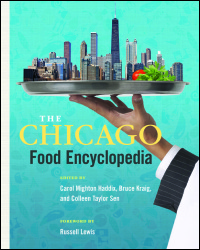 Cover for Haddix: The Chicago Food Encyclopedia. Click for larger image