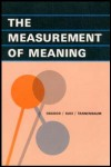 link to catalog page OSGOOD, The Measurement of Meaning