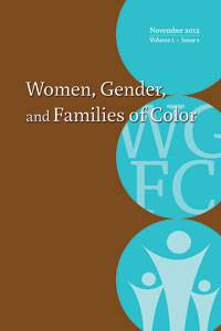 Cover for Women, Gender, and Families of Color