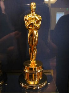 Academy Awards statue. Photo credit: Loren Javier, Flickr Creative Commons