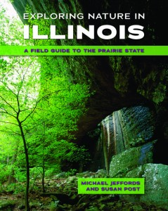 book cover - Exploring Nature in Illinois by Michael Jeffords and Susan Post