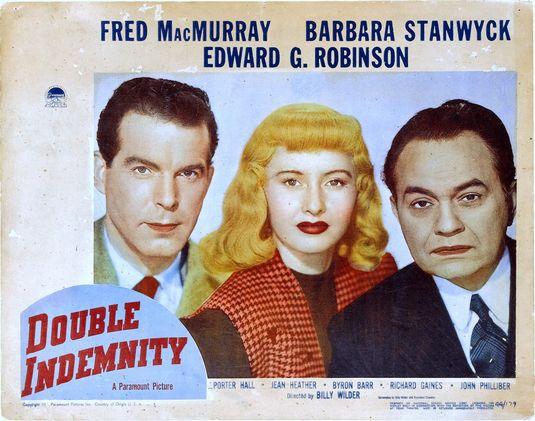 double indemnity lobby card