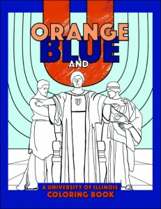 orange blue and u