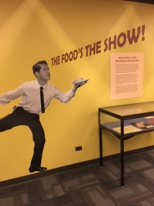 The Food's the Show